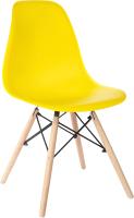 Стул Mio Tesoro Бари SC-001 (желтый/дерево) -