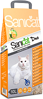 Наполнитель для туалета Sanicat Professional Clumping Duo (10л) -