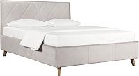 Двуспальная кровать ДеньНочь Мишель К03 KR00-19Le 160x200 (PR02/PR02) -