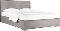 Двуспальная кровать ДеньНочь Мишель К04 KR00-19 160x200 (PR03/PR03) -