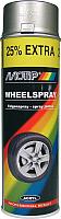 Краска автомобильная MoTip Для дисков / 04010 (0.5л, стальной) -
