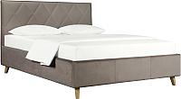 Двуспальная кровать ДеньНочь Мишель К03 KR00-19Le 160x200 (PR04/PR04) -