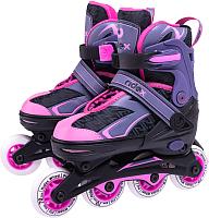 Роликовые коньки Ridex Lunatic Pink M (р-р 34-37) -