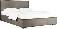 Двуспальная кровать ДеньНочь Мишель К04 KR00-19 160x200 (PR04/PR04) -