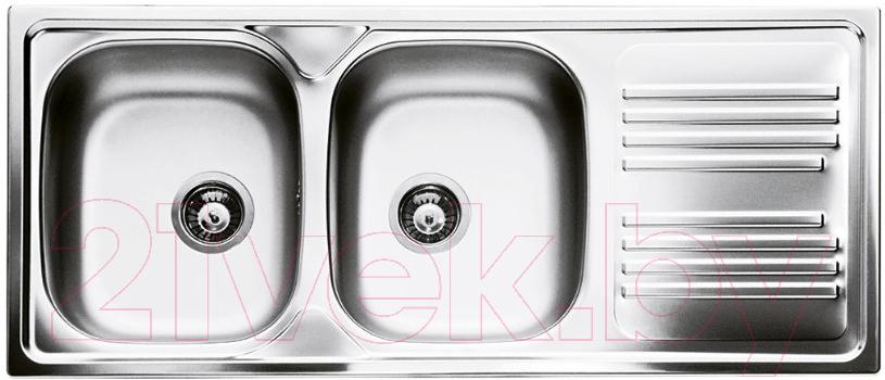 Купить Мойка кухонная Smeg, LYP116D, Италия, нержавеющая сталь