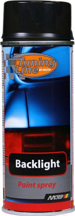 Купить Лак автомобильный MoTip, Для тонировки фар / 00260 (400мл, черный), Нидерланды