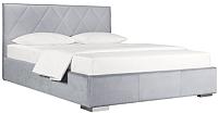 Двуспальная кровать ДеньНочь Мишель К04 KR00-19 180x200 (PR05/PR05) -