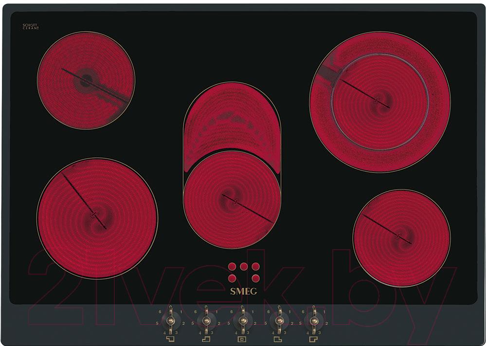 Купить Электрическая варочная панель Smeg, P875AO, Италия