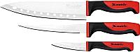 Набор ножей Matrix Silver Teflon Kitchen 79148 (3шт) -