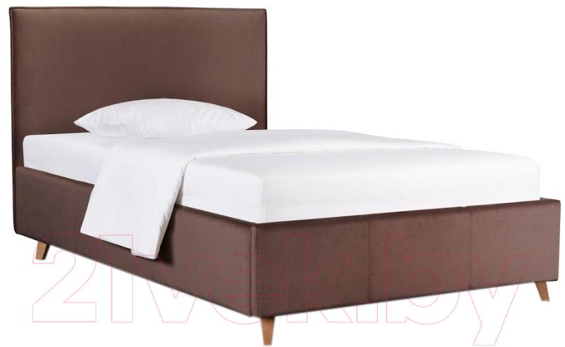 Купить Односпальная кровать ДеньНочь, Солерно К03 KR00-24Le 90x200 (PR04/PR04), Беларусь