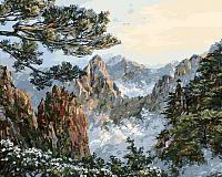 Картина по номерам БЕЛОСНЕЖКА Китай. Хуаншань / 196-AB -