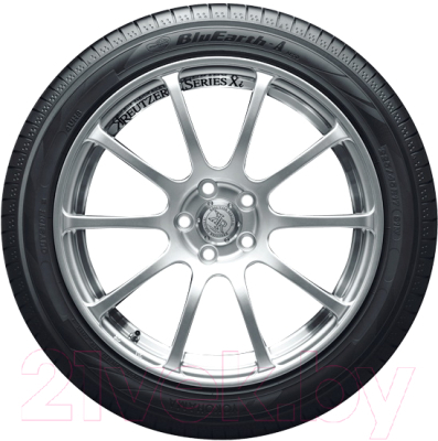Летняя шина Yokohama BluEarth-A AE-50 205/55R16 91W -