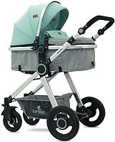 Детская универсальная коляска Lorelli Alexa 3 в 1 Green Grey Birds (10021291986) -