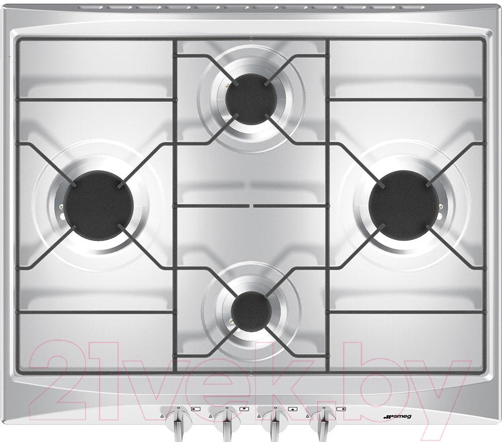 Купить Газовая варочная панель Smeg, S264X2, Италия