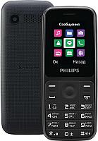 Мобильный телефон Philips Xenium E125 (черный) -