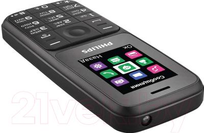 Мобильный телефон Philips Xenium E125 (черный)