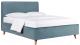 Односпальная кровать ДеньНочь Софи К03 KR00-18Le 90x200 (KN26/KN26) -