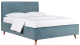 Двуспальная кровать ДеньНочь Софи К04 KR00-18L 180x200 (KN26/KN26) -