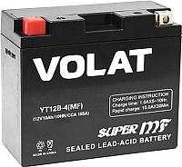 Мотоаккумулятор VOLAT YT12B-4 MF L+ (10 А/ч) -