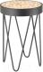 Журнальный столик Halmar Naturo (дуб натуральный/черный) -