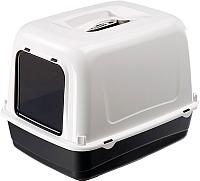 Туалет-лоток Ferplast Clear Cat 10 / 72064099 (черный) -