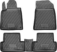 Комплект ковриков Novline CARPGT00015 для Peugeot 407 (4шт) -