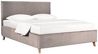 Двуспальная кровать ДеньНочь Эстель К03 KR00-28Le 160x200 (PR02/PR02) -