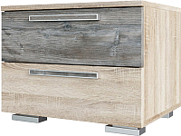 Прикроватная тумба SV-мебель Спальня Лагуна 2 (дуб сонома/сосна джексон) -