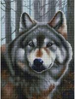 Набор алмазной вышивки БЕЛОСНЕЖКА Волк / 347-ST-S -