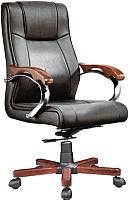 Кресло офисное Norden Diplomat / 377A-Р02 (черный) -