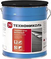 Гидроизоляционная мастика Технониколь Битумный №01 (50л) -