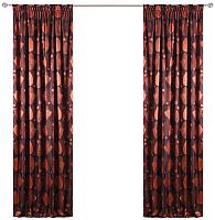 Шторы Kamenski Бернар / 171226С (коричневый/оранжевый) -