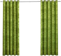Шторы Kamenski Бенито / 191277С (зеленый) -