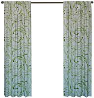 Шторы Kamenski Молли / 191278С (зеленый) -