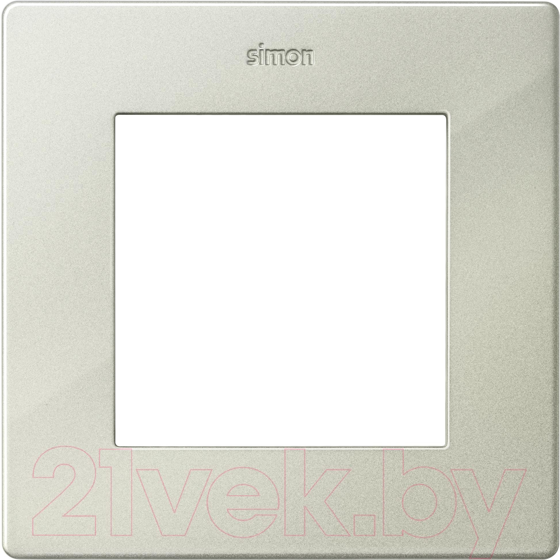 Купить Рамка для выключателя Simon, 2400610-034 (шампань), Россия, пластик, Simon Harmonie 24 шампань (Simon)