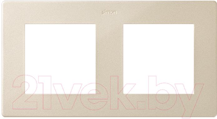 Купить Рамка для выключателя Simon, 2400620-034 (шампань), Россия, пластик, Simon Harmonie 24 шампань (Simon)