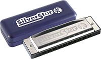 Губная гармошка Hohner Silver Star 504/20 G / M50408 -