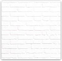 Магнитно-маркерная доска Orlix Белый кирпич / ME-00090 (30x30) -