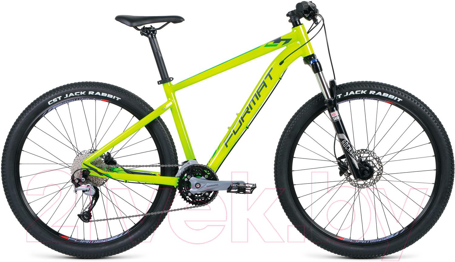 Купить Велосипед Format, 1411 27.5 2018-2019 / RBKM9M67S005 (S, желтый), Россия