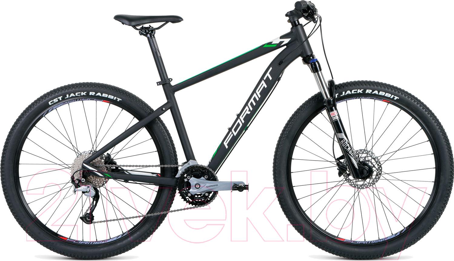 Купить Велосипед Format, 1411 27.5 2018-2019 / RBKM9M67S004 (S, черный матовый), Россия