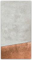 Магнитно-маркерная доска Orlix Бетон и медь / ME-00093 (30x60) -