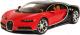 Масштабная модель автомобиля Bburago Бугатти Широн / 18-11040 (черный/красный) -