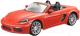 Масштабная модель автомобиля Bburago Порше 718 Бокстер / 18-21087 (оранжевый) -