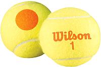 Набор теннисных мячей Wilson Starter Orange / WRT137300 (3шт) -