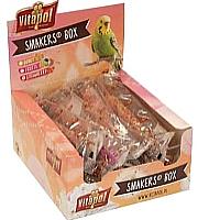 Лакомство для птиц Vitapol Smakers Box Для волнистых попугаев с клубникой ZVP-3232 (540г) -
