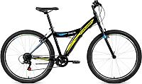 Велосипед Forward Dakota 26 1.0 2019 / RBKW9MN6P003 (черный/желтый) -