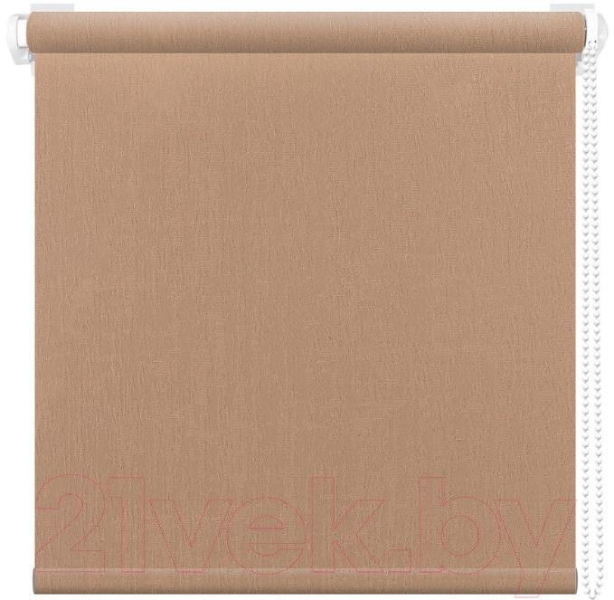 Купить Рулонная штора АС ФОРОС, Бридж 8447 57x175 (золото), Россия, ткань