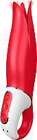 Вибратор Satisfyer Power Flower с лепестками / 89390 (красный) -