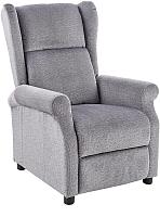 Кресло-реклайнер Halmar Agustin (серый) -