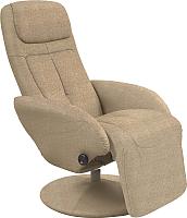 Кресло-реклайнер Halmar Optima 2 (бежевый) -